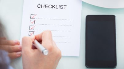 IPhone App Design Checklist