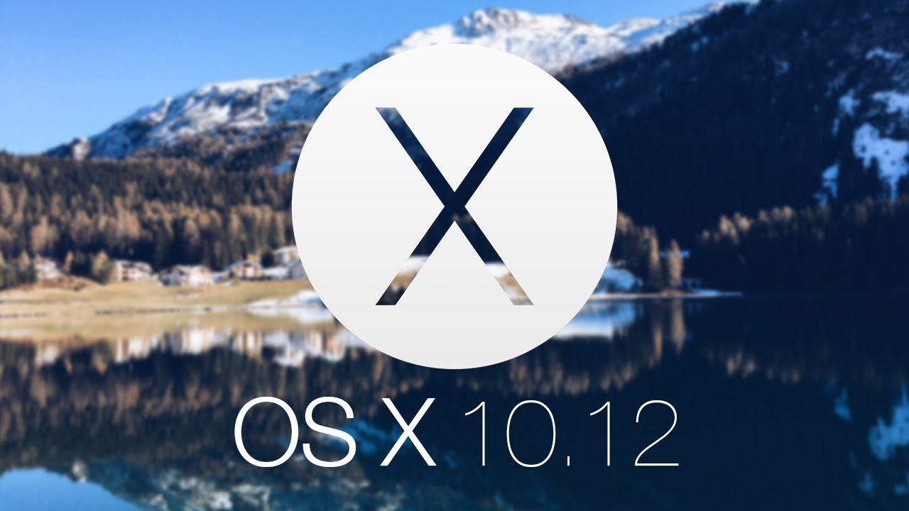 macOS Sierra - macOS X 10.12 announced at WWDC