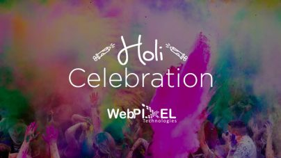Holi Celebration at WebPixel Technologies