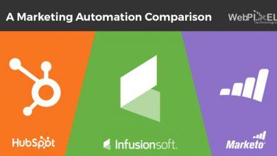 HubSpot vs. Infusionsoft vs. Marketo – A Marketing Automation Comparison