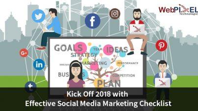 Kick Off 2018 with Effective Social Media Marketing Checklist