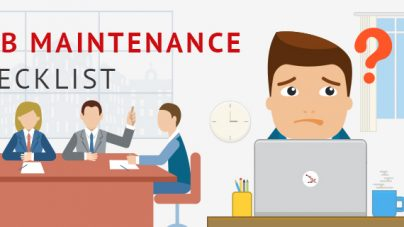 Web Maintenance Checklist